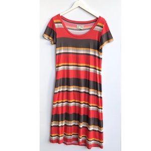 Anthropologie Saturday Sunday t-shirt maxi dress